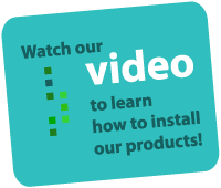 Watch our videos to learn how to install our products!